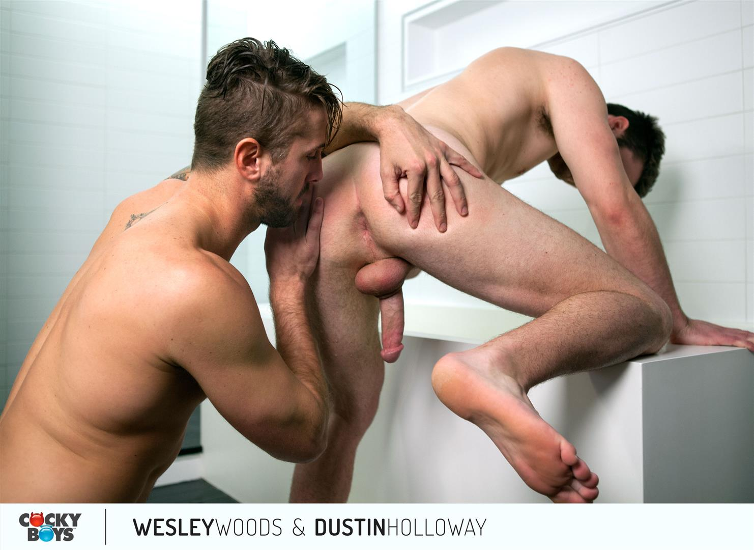 Cockyboys-Wesley-Woods-and-Dustin-Holloway-Hung-Hunks-Flip-Fucking-Amateur-Gay-Porn-14 Cockyboys:  Wesley Woods and Dustin Holloway Flip-Flop Fucking