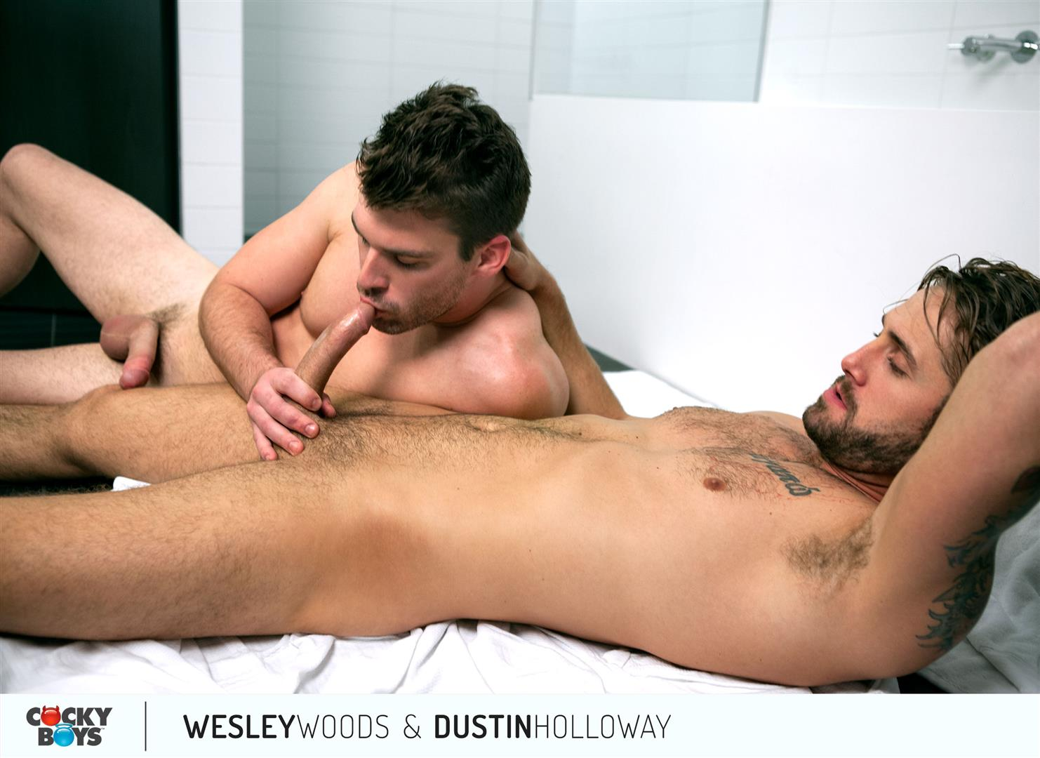 Cockyboys-Wesley-Woods-and-Dustin-Holloway-Hung-Hunks-Flip-Fucking-Amateur-Gay-Porn-22 Cockyboys:  Wesley Woods and Dustin Holloway Flip-Flop Fucking