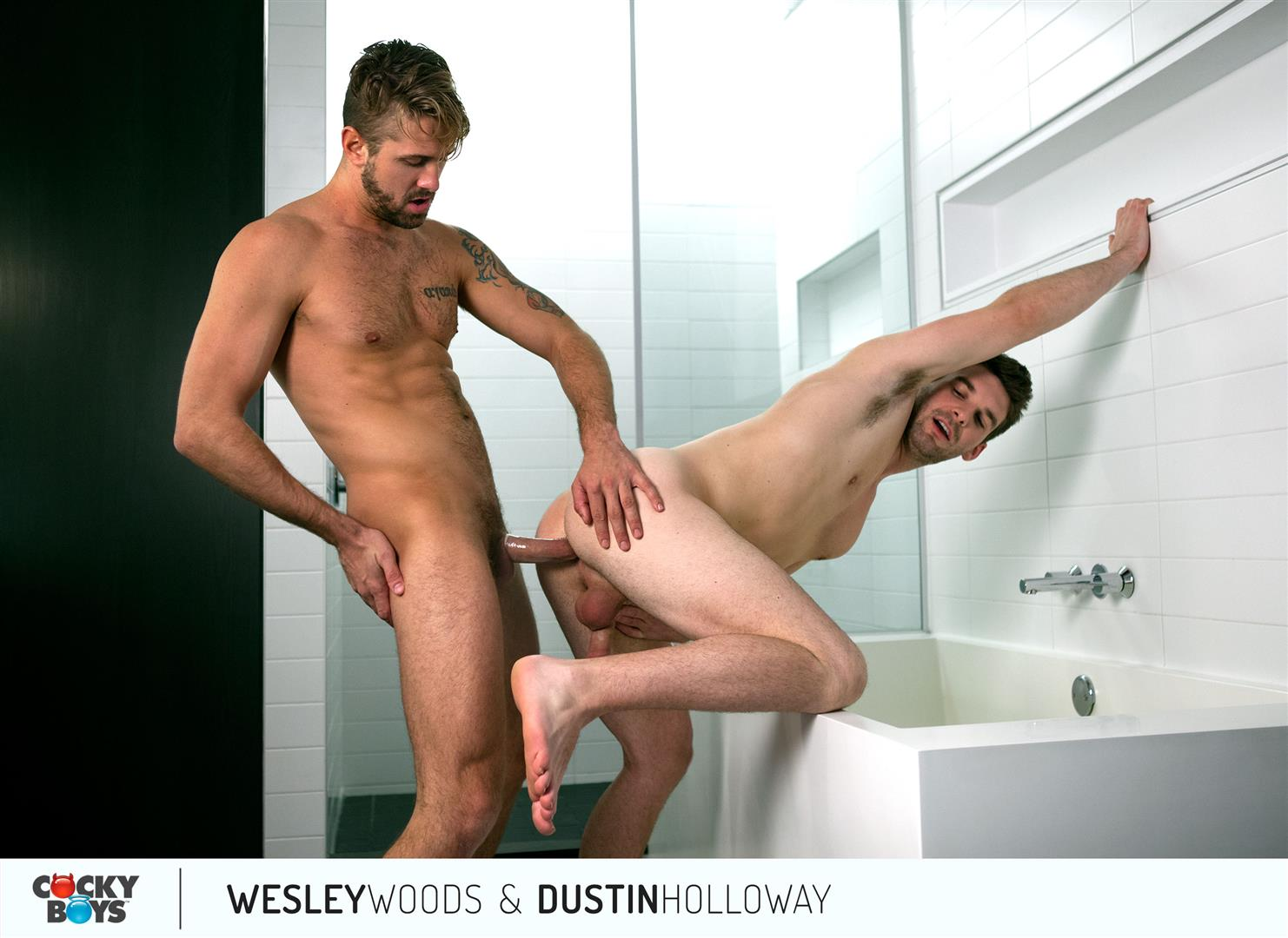 Cockyboys-Wesley-Woods-and-Dustin-Holloway-Hung-Hunks-Flip-Fucking-Amateur-Gay-Porn-24 Cockyboys:  Wesley Woods and Dustin Holloway Flip-Flop Fucking