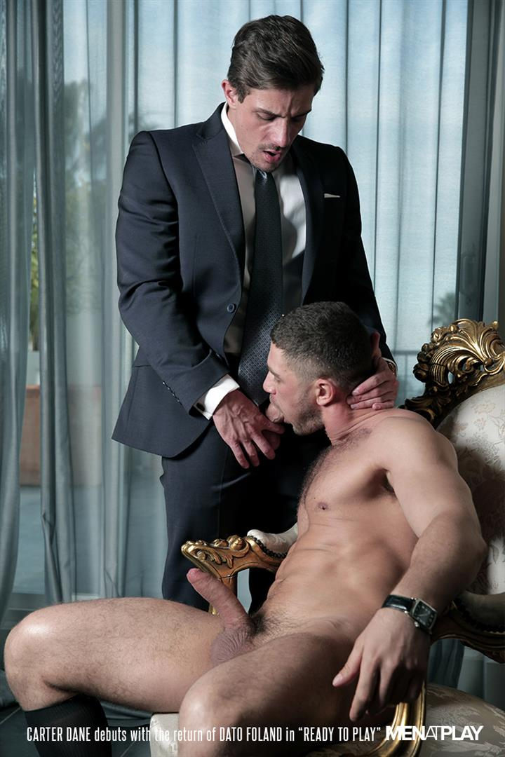 Men At Play Carter Dane and Dato Foland Big Uncut Dicks Men In Suits Fucking Amateur Gay Porn 19 Dato Foland and Carter Dane Fucking In Suits With Their Big Uncut Cocks