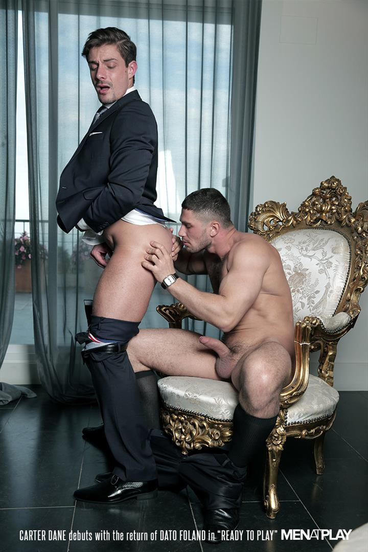 Men At Play Carter Dane and Dato Foland Big Uncut Dicks Men In Suits Fucking Amateur Gay Porn 20 Dato Foland and Carter Dane Fucking In Suits With Their Big Uncut Cocks