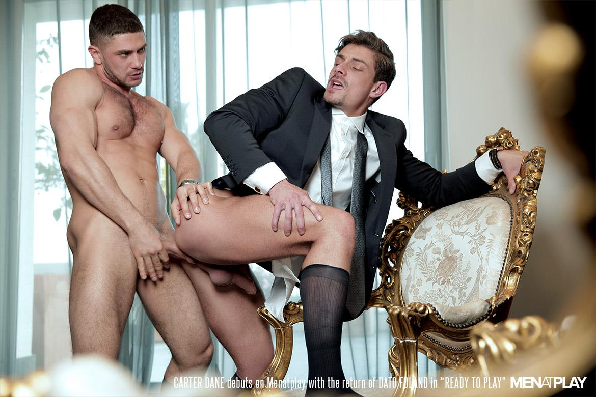 Men At Play Carter Dane and Dato Foland Big Uncut Dicks Men In Suits Fucking Amateur Gay Porn 26 Dato Foland and Carter Dane Fucking In Suits With Their Big Uncut Cocks