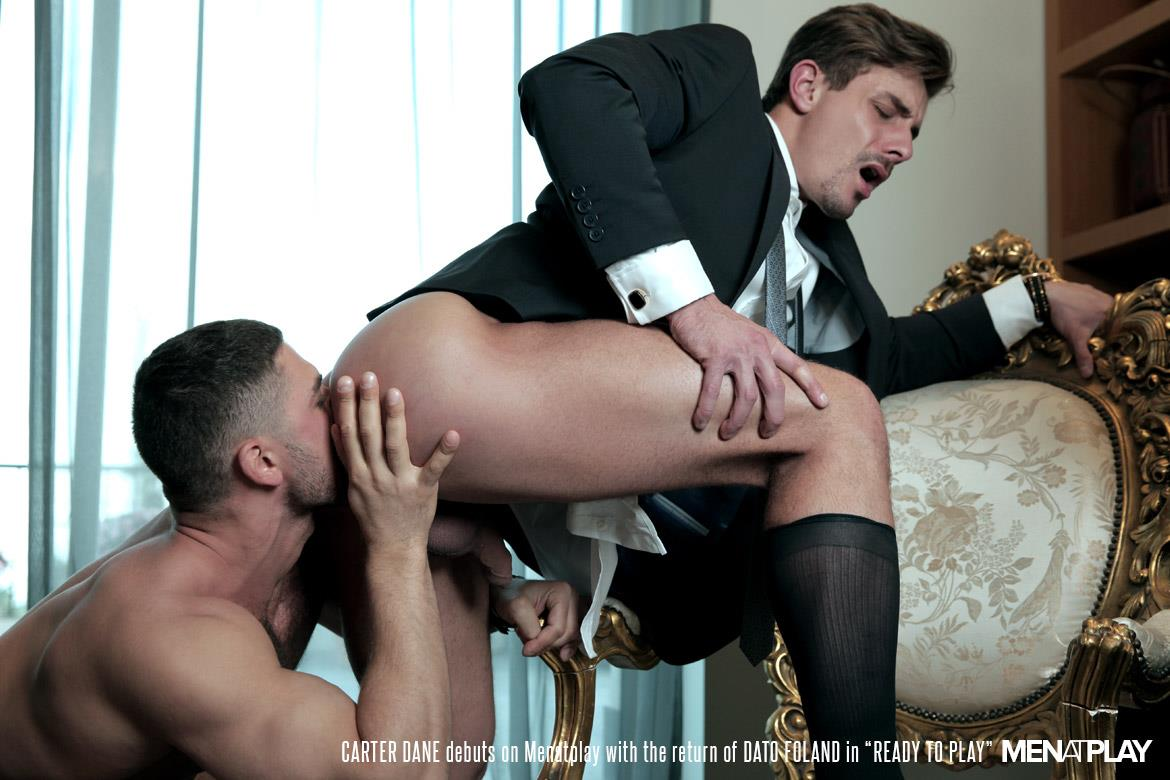 Men At Play Carter Dane and Dato Foland Big Uncut Dicks Men In Suits Fucking Amateur Gay Porn 29 Dato Foland and Carter Dane Fucking In Suits With Their Big Uncut Cocks