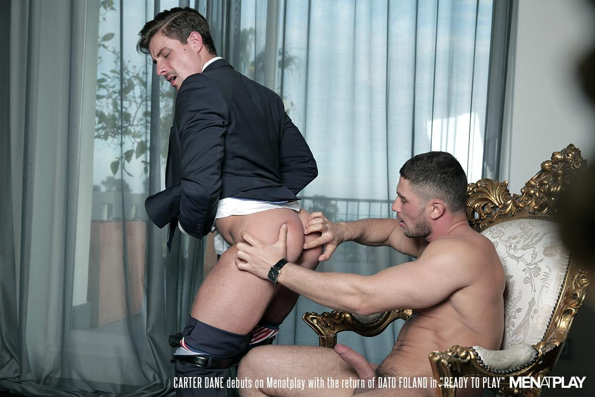 Men At Play Carter Dane and Dato Foland Big Uncut Dicks Men In Suits Fucking Amateur Gay Porn 30 Dato Foland and Carter Dane Fucking In Suits With Their Big Uncut Cocks