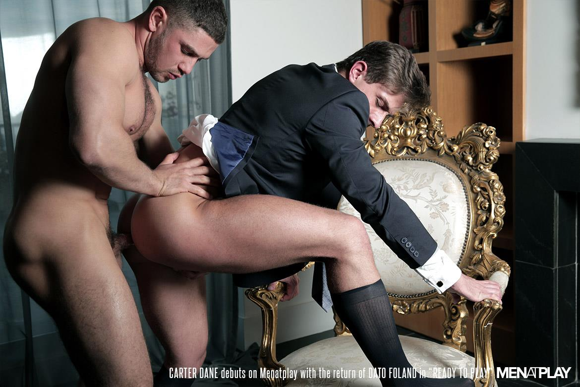Men At Play Carter Dane and Dato Foland Big Uncut Dicks Men In Suits Fucking Amateur Gay Porn 31 Dato Foland and Carter Dane Fucking In Suits With Their Big Uncut Cocks