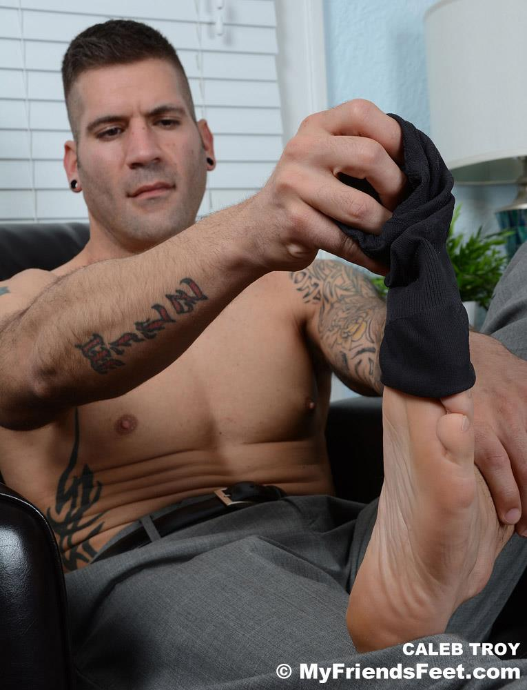 My-Friends-Feet-Caleb-Troy-Muscle-Hunk-With-Hot-Feet-Amateur-Gay-Porn-5 Caleb Troy Plays With His Sexy Feet In Dress Socks