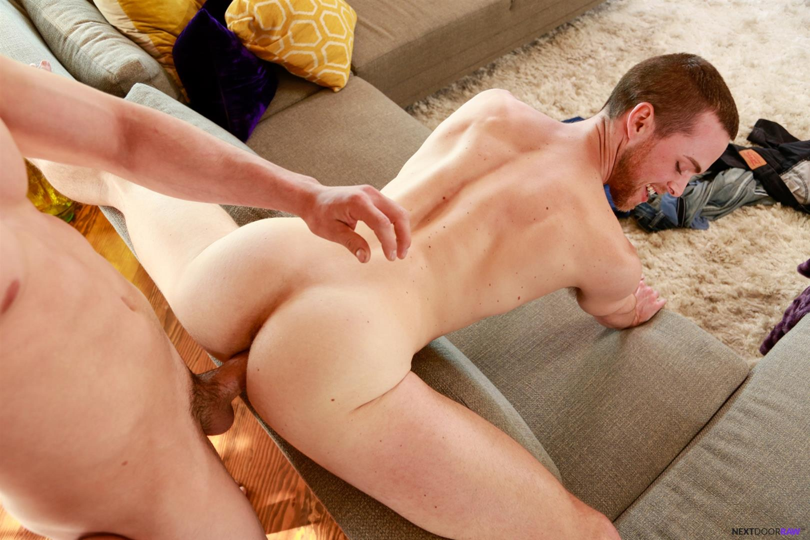 Next Door Raw Derrick Dime and Brandon Moore Roommates Bareback Sex Amateur Gay Porn 12 Next Door Raw:  Derrick Dime Barebacks Brandon Moore With His Fat Cock