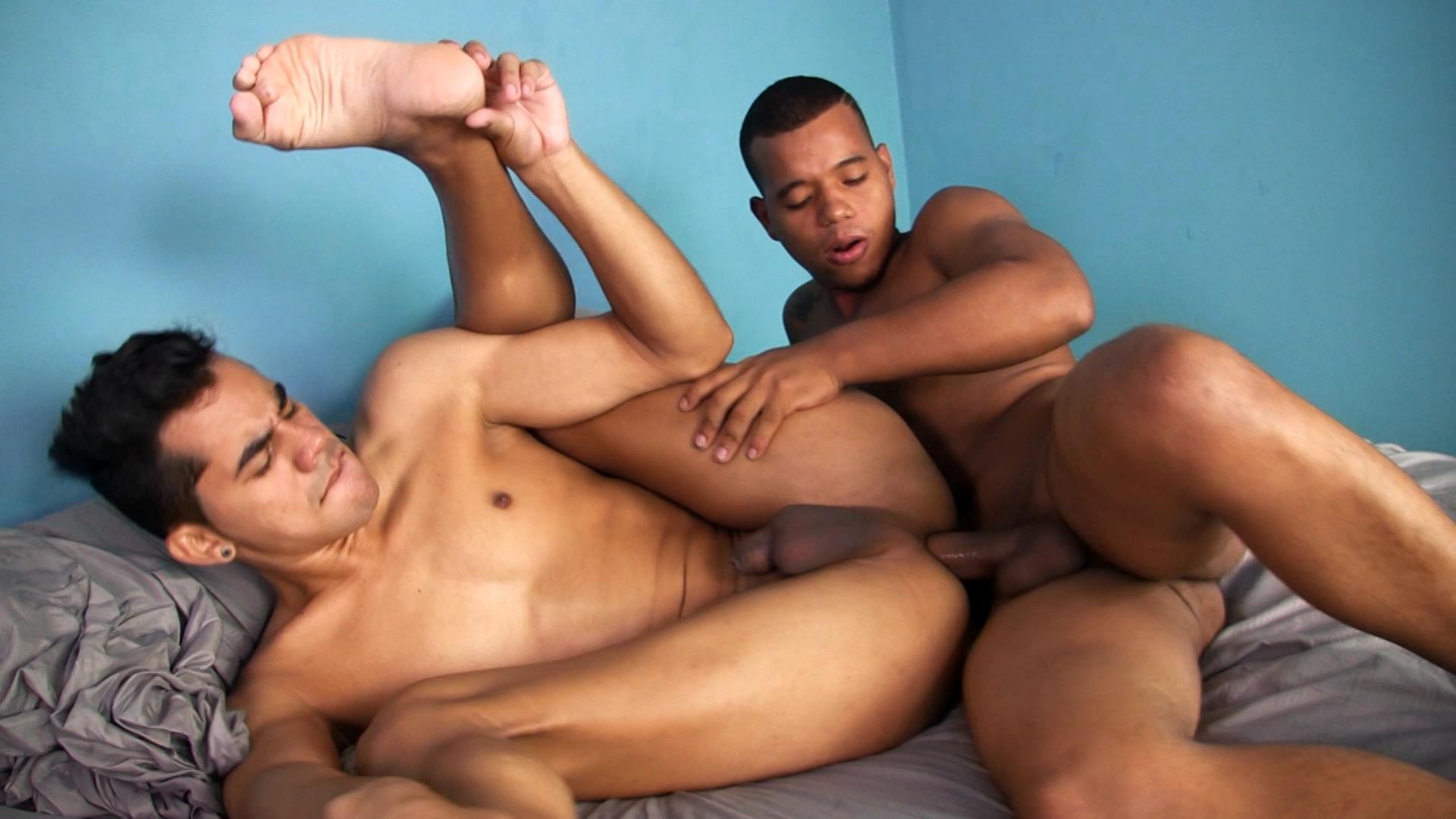 iO-Macho-Latino-Twinks-Bareback-Big-Uncut-Dicks-Amateur-Gay-Porn-13 Aggressive Latino Twink Bareback Breeds His Latin Buddy With His Big Uncut Cock